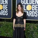 Rachel Bilson wears Brock Collection Dress : 77th Annual Golden Globe Awards