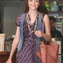 Emmy Rossum - Leaving Judi's Deli In Beverly Hills - March 5, 2010
