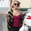 Chelsea Kane was spotted at the studio rehearsing for her role on the show (March 17)