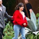 Camila Cabello – Leaving a restaurant in Brazil