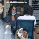 Leighton Meester – With a friend while out in Malibu