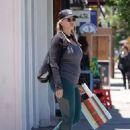 Natasha Henstridge – Shopping in Los Angeles