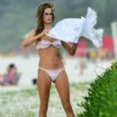 Alessandra Ambrosio – on the beach in Florianopolis