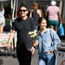 Emmy Rossum – Shopping at Farmer's Market in Beverly Hills