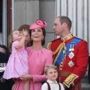 Prince Windsor and Kate Middleton : Trooping the Colour 2017 - 400 x 600