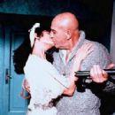 Claudia Cardinale and Telly Savalas
