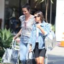 Lea Michele – Out in Bel-Air