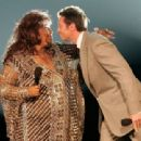 Aretha Franklin and Hugh Jackman At The 59th Annual Tony Awards (2005)