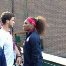 Serena Williams and Grigor Dimitrov