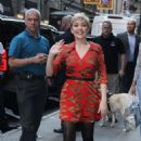 Cozi Zuehlsdorff – Arrives at Good Morning America in NYC - 454 x 698