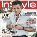 Vincent Cassel - Instyle Men Magazine Cover [Germany] (March 2016)