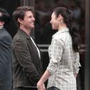 "Tom Cruise & Olga Kurylenko Film ""Oblivion"""