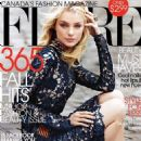 Jessica Stam: Covers 'Flare' Magazine September 2011