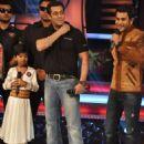 Salman Khan On The Sets Of Sa Re Ga Ma Pa Show