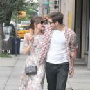 Keira Knightley and fiance James Righton taking a stroll around Soho in New York City (August 5)