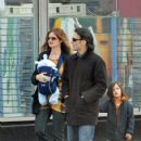 Jill Hennessy and Family Stroll
