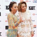 Melanie Brown and Phoenix Chi Gulzar – 2018 LGBT Awards in London - 454 x 605
