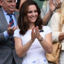 Kate Middleton – Mens Singles Final at Wimbledon Tennis Championships in London - 454 x 662