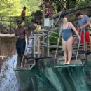Iskra Lawrence and Philip Payne at Mountain Creek Water Park in New Jersey - 454 x 431