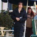 Shailene Woodley – On the set in LA - 454 x 681