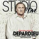 Gérard Depardieu - Studio Cine Live Magazine Cover [France] (January 2016)