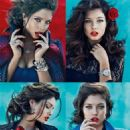 Sandrah Hellberg for Guess Accessories Fall/Winter 2013 Ad Campaign - 454 x 605