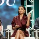 Shay Mitchell – 'YOU' Panel at 2018 Summer Television Critics Association Press Tour in LA