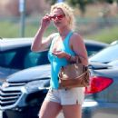 Britney Spears in Shorts – Heads to dentist in LA