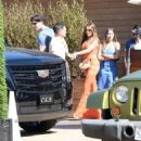 Sofia Vergara and Joe Manganiello– Leaving Soho Housein in Malibu 7/2/2016 - 454 x 486