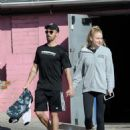 Sophie Turner in Leggings – West Hollywood 1/6/ 2017