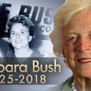 Barbara Bush -- 1925 - 2018 - 454 x 255
