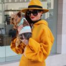 Phoebe Price in Orange Outfit – Out in Beverly Hills - 454 x 681