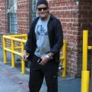 Charlie Sheen is seen leaving a medical building after a check-up in Beverly Hills, California on September 1st, 2015 - 437 x 600