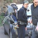 Orlando Bloom Takes Flynn for a Hike