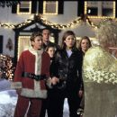 Jonathan Taylor Thomas, Gary Cole, Lauren Maltby, Jessica Biel and Eve Gordon in Disney's I'll Be Home For Christmas - 1998