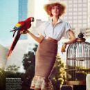 Frida Gustavsson Glamour Us Magazine March 2015