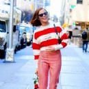 Zoey Deutch – Seen out in NYC on Valentine's day