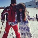 Danna Paola and Eleazar Gomez - Sun Valley, Idaho