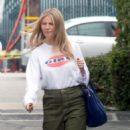 Gwyneth Paltrow – Leaves a business meeting in LA