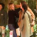 Jennifer Aniston – Meets up with her friends at the San Vicente Bungalows in Hollywood