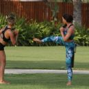 Jess Wright – Working Out in Dubai - 454 x 347