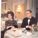 Sophia Loren and Marlon Brando in A Countess from Hong Kong (1967)