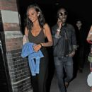 Alesha Dixon at Chiltern Firehouse in London - 454 x 627