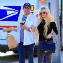 Avril Lavigne and boyfriend Phillip Sarofim – Out in Beverly Hills - 454 x 681