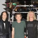 Def Leppard Kick Off 'Viva Hysteria' Residency With Memorabilia Display Dedication at the Hard Rock Hotel and Casin in Las Vegas - 454 x 233