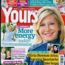 Olivia Newton-John - Yours Magazine Cover [United Kingdom] (25 September 2018)