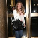 Haylie Duff seen leaving the NBC studios in New York City - 414 x 594