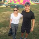 LOOK: Sweet photos of Matteo, Sarah at Pampanga event - 454 x 526
