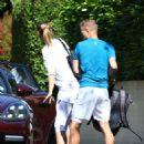 Maria Sharapova – Out in Wimbledon - 454 x 615