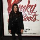 Faye Brookes – Kinky Boots Press Night in Manchester